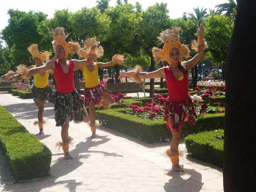 Ips brazilian street stars dance and shine in spain