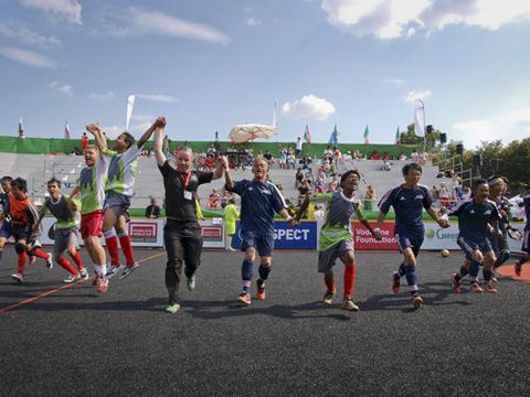 ホームレスワールドカップミラノ大会1-2