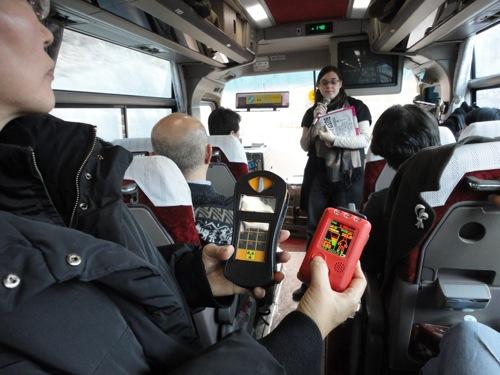 10 バスの中写真