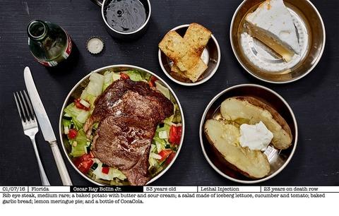 TCC_Photo Series_死刑囚の最後の食事 1