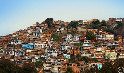 28 millimetres women are heroes action dans la favela morro da providencia favela de jour rio de janeiro bresil 2008