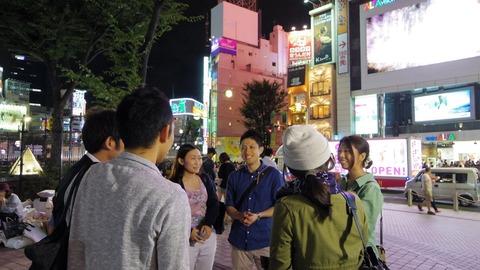 夜の街歩きツアー