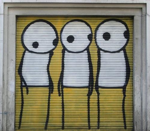 685px STIK graffiti
