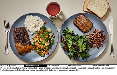TCC_Photo Series_死刑囚の最後の食事 2