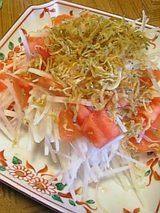 20060404大根トマトジャコサラダ