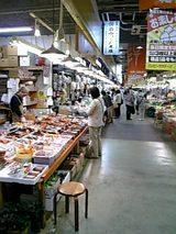 20060606秋田市民市場乾物通り
