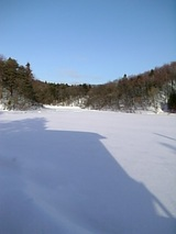 20060129青空が広がる雪景色2