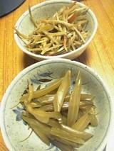 20060408ワカメ茎とゴボウ