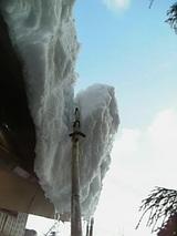 20060120軒先の雪