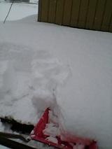 20051217屋根の雪下ろし