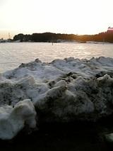 20060225山雪景色夕焼け2