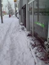 20051212雪の歩道