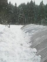 20060211ハウスの雪