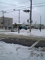 20051217雪の道路