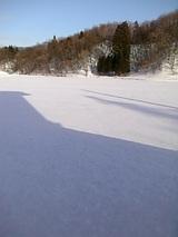 20060129青空が広がる雪景色1