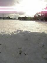 20060218雪の山の斜面1