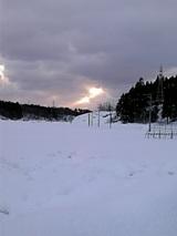 20060111雲の切れ間からふたすじの光線