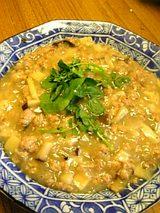 20060402シイタケシメジタケノコひき肉