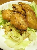 20060405鶏手羽焼き