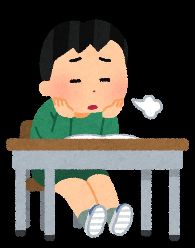 yaruki_nai_school_little_boy