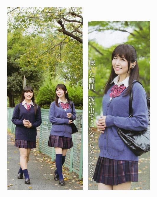【画像】井上喜久子さん(17歳)がJKの娘さんと仲良くブレザーで登校