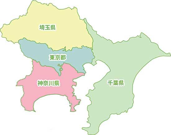 関東って東京、神奈川、埼玉の三大都市じゃん?