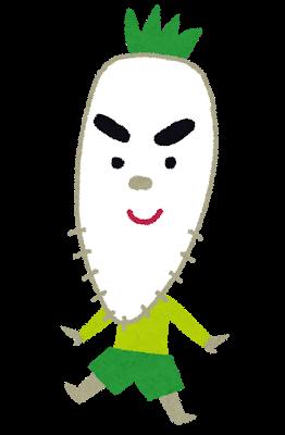 【画像】すごく立派で男らしいダイコンが収穫される