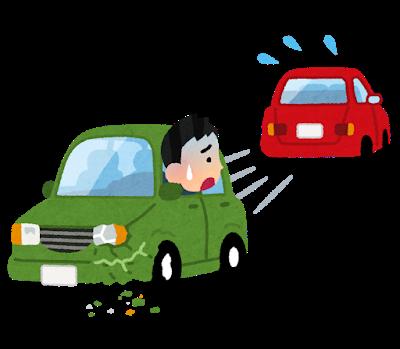 【画像】俺氏、駐車場で当て逃げされる……