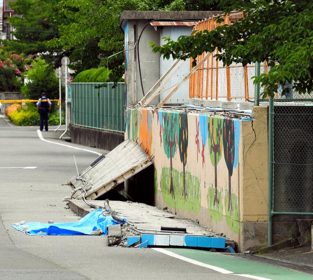 9歳女児死亡のブロック塀 住民「こら崩れるで」校長「チェックしてや」市教委「…安全っと(キュキュッ)」