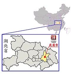 250px-武漢の位置