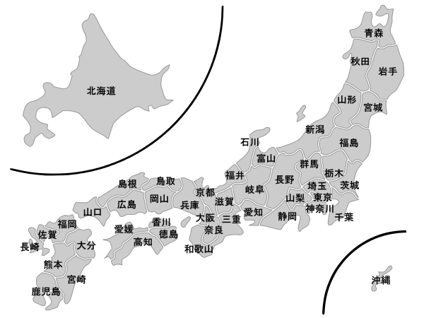 Prefectures_of_Japan_nallow_gray_labeled_Jp.svg