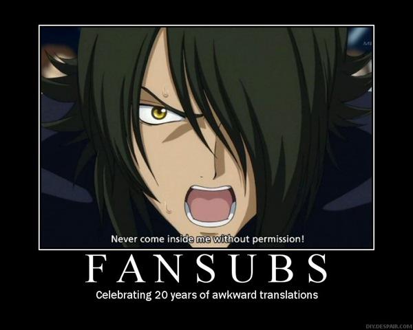 fansubs