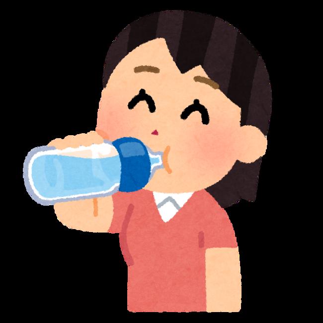 drink_suibun_hokyuu_petbottle_woman
