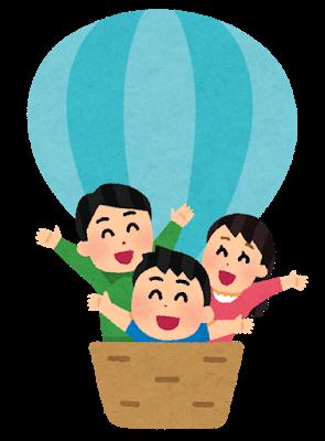 """【悲報】現代人、移動手段に""""気球""""を使用しない……何故気球は流行らないのか?"""