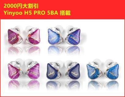 Yinyoo H5 Pro