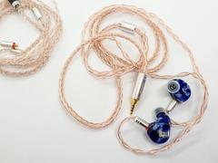 「MaGaosi MGS-401」 バランスの取れたリスニングサウンドが心地よい、中国磁器を連想させる個性的シェルの4BA高音質中華イヤホン【レビュー】