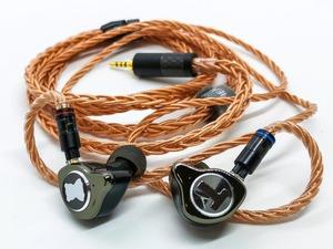 HiFiHear 「HiF4881 6N 単結晶銅ケーブル」 より質の高い線材を採用。非常に濃く、瑞々しくサウンドを引き立たせるイヤホンケーブル【レビュー】