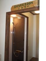 改装後のシャワー室�