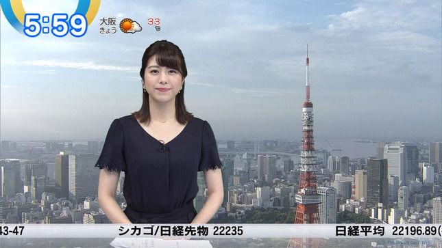 森山るりアナ ニュースモーニングサテライト