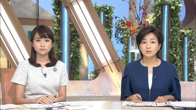 日比麻音子アナと膳場貴子アナ 報道特集 Nスタ