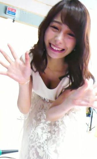 宇垣美里アナがカレンダー撮影で谷間と脇を見せつける!!