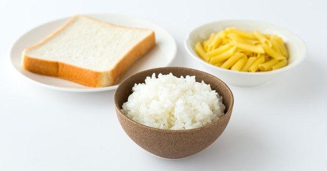 パン、ご飯、麺類←この中で一番健康にいいのはどれなの?