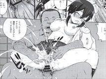 【SAO】GGOでミスした罰として輪姦された身体が現実でも疼いちゃって、出会い系でキモオヤジとヤりまくっちゃうHなシノン!【エロ漫画同人誌】