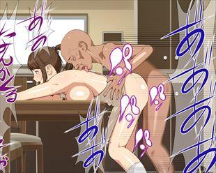 【エロ漫画】お年寄りを元気にしてくれる介護師の鏡…