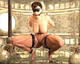 【エロ画像】拘束レイプっ!がっつり犯されちゃってるヒロイン達wwww