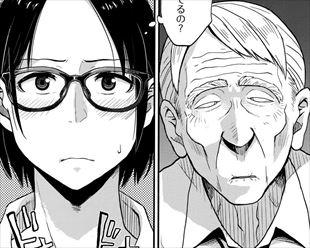 【エロ漫画】まったく動かないおじいさんの目の前で裸になって露出遊びをしていた結果wwwwwwwwwwww