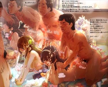 超乱交な二次エロ画像…【絵師:あつあげ】