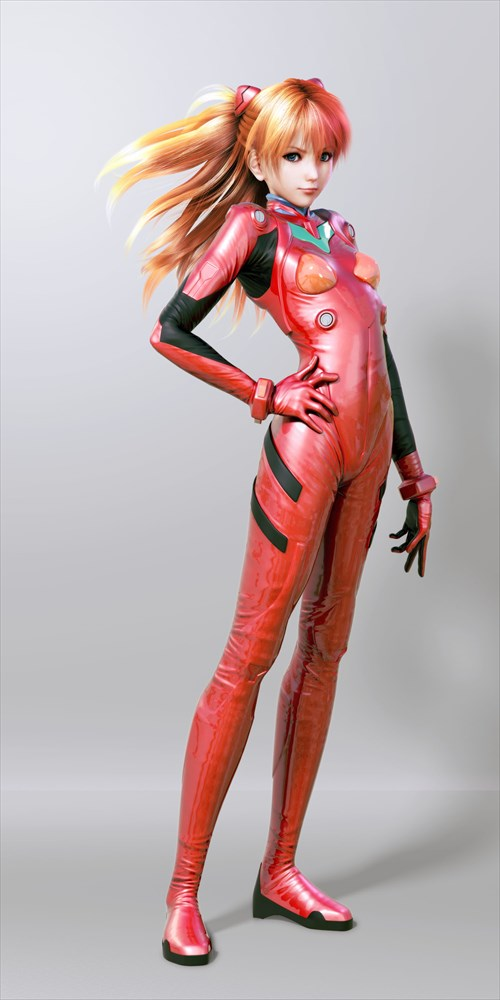 エヴァヒロインのエロ画像