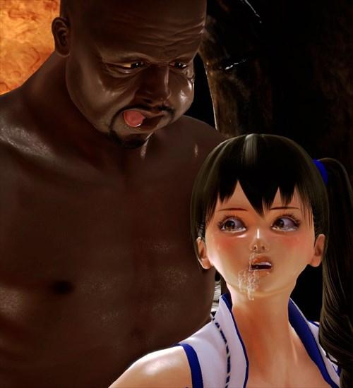 ハニーセレクト・黒人提督!加賀さんの受難のエロ画像