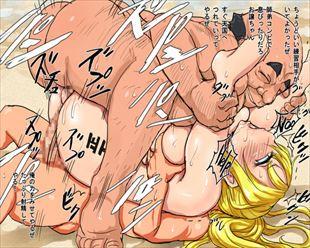 【キモ男レイプwww】キモい汚っさん達に凌辱レイプされちゃってるエロ画像www